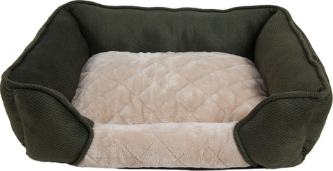 Aspen Pet Quilted Lounger - Wagging Online