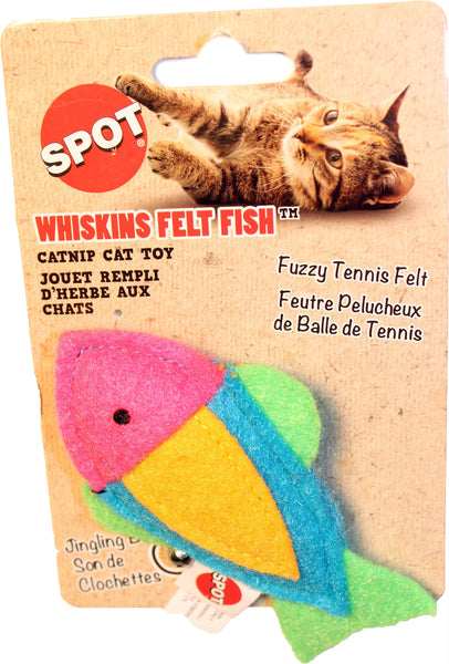 Whiskins Felt Fish-catnip