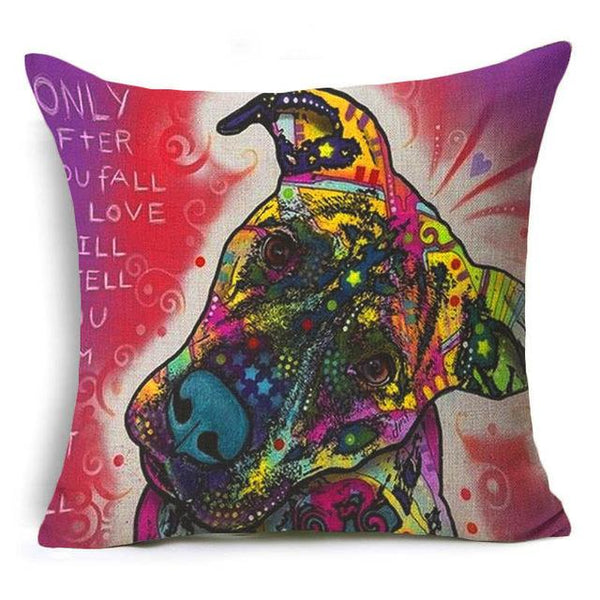 Cute Colourful Nordic Cushion Cover - Wagging Online