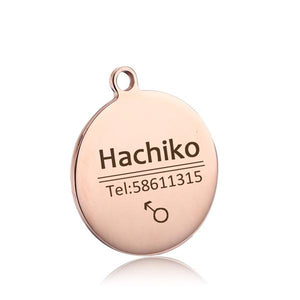 Pet ID Tag With Free Engraving - Wagging Online