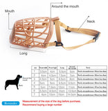 Silicone Breathable Pet Muzzle - Wagging Online