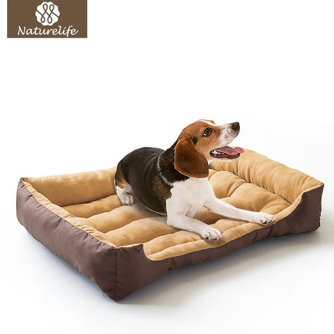 Soft  Suede Dog Bed - Wagging Online