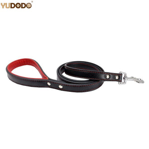 120cm Leather Puppy Lead - Wagging Online