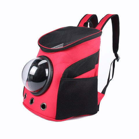 NEW Carrier Dog Cat Space Capsule Shaped Pet Travel Carrying Breathable Shoulder Backpack Outside Travel Portable Bag Pet Produc - Wagging Online