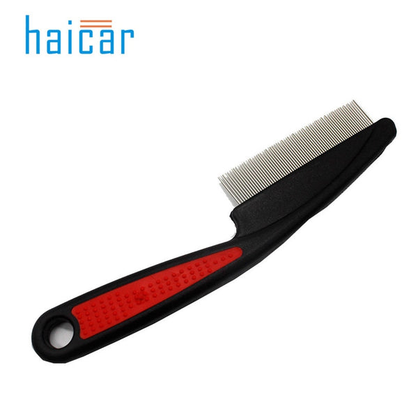haicar Dog Supplies Combs  Plastic Handle Puppy Cat Massage Bath Brush Pet Grooming Tool Pet Dog Comb Long Hair Brush u7116 - Wagging Online