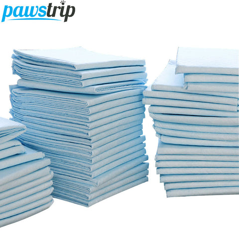 100pcs /lot Super Absorbent Pet Diaper Dog Training Pee Pads Healthy Clean Wet Mat For Dog Cats 33*45cm - Wagging Online