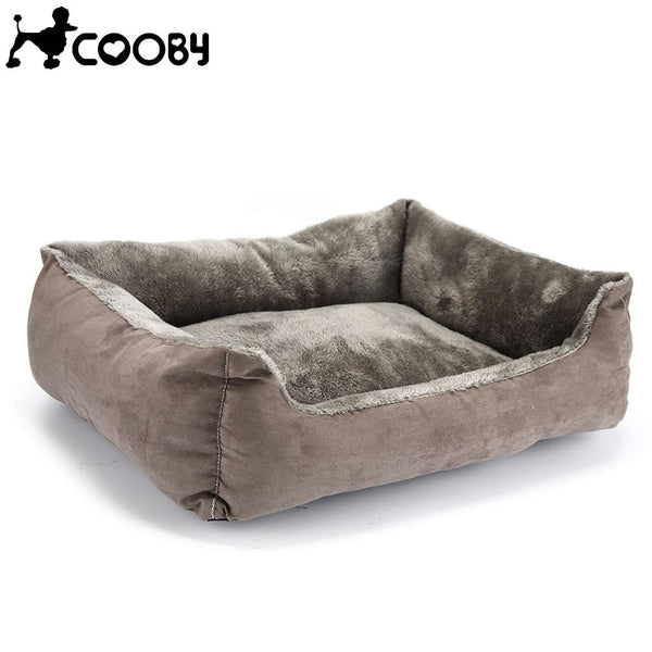 Solid Grey Pet Dogs Bed - Wagging Online