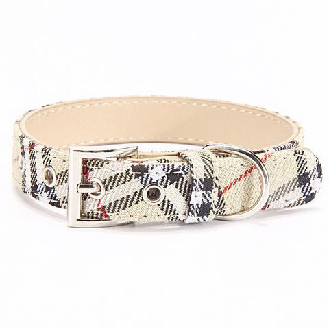 Stylish Adjustable Pet Dogs Collar - Wagging Online