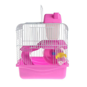 2 Storey Mouse Cage With Water Bottle - Wagging Online