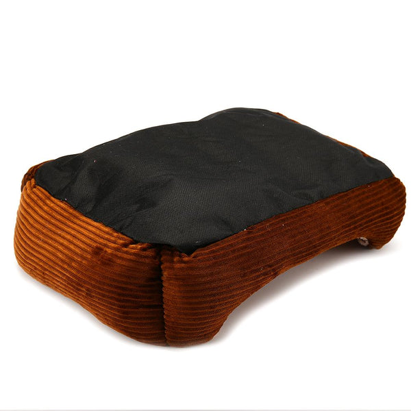 Warm Paw Print Dogs Bed