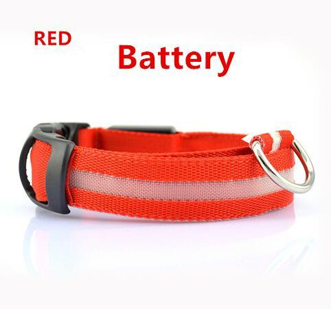 USB Rechargeable LED Flashing Dog Collar - Wagging Online