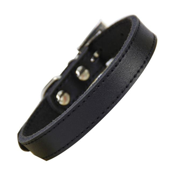 Genuine Leather Adjustable Dogs Collar - Wagging Online