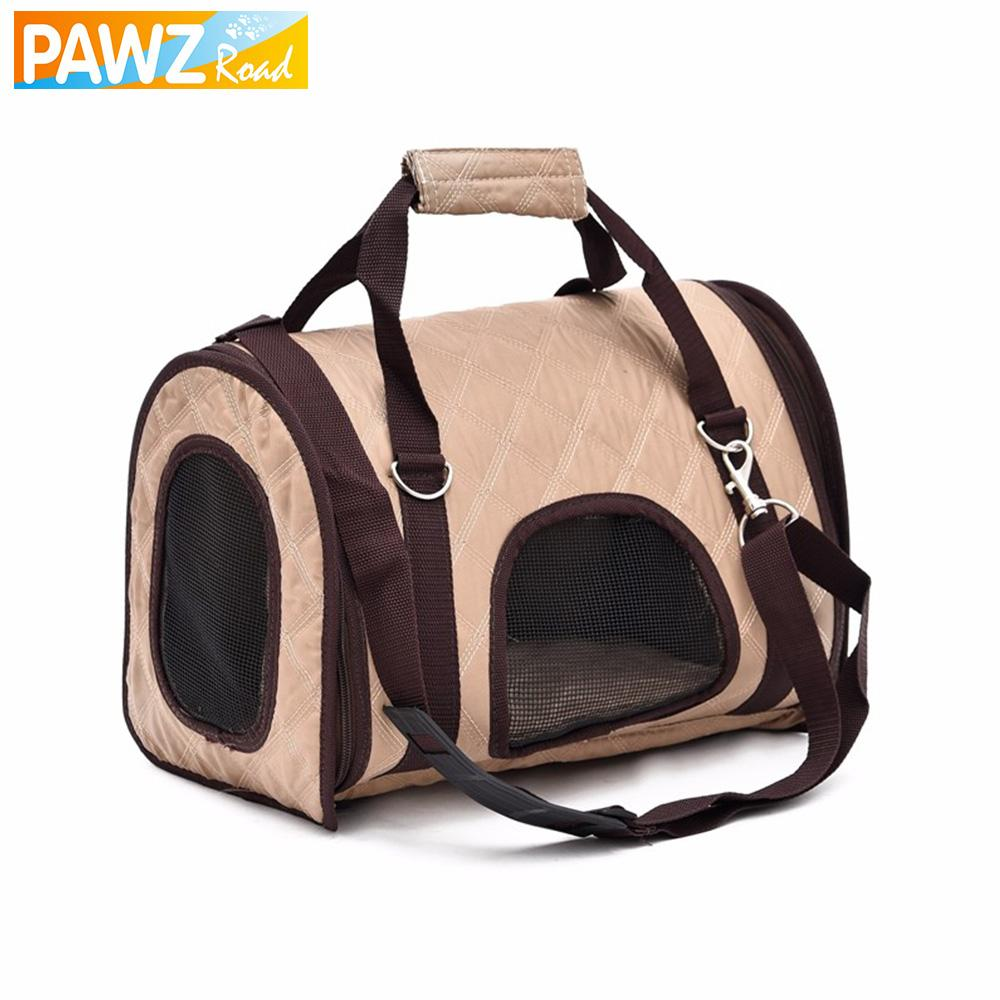 Classic Style Beige Pet Bag - Wagging Online