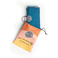 Load image into Gallery viewer, Travel towel with matching pouch - The Summer Chaser