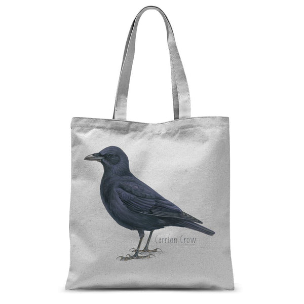 Carrion Crow Sublimation Tote Bag