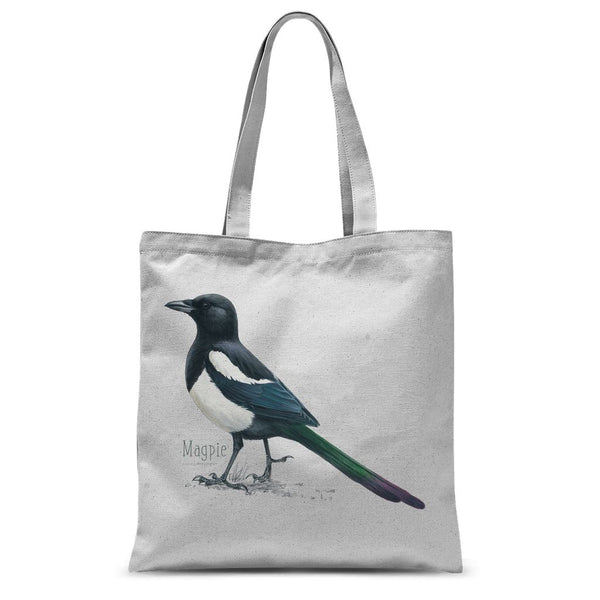 Magpie Sublimation Tote Bag