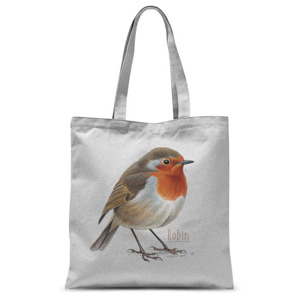 Robin Sublimation Tote Bag
