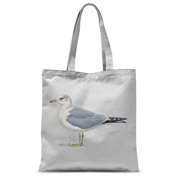 Common Gull Sublimation Tote Bag