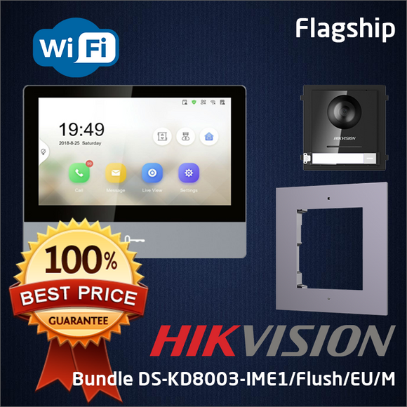 HIKVISION Bundle DS-KD8003-IME1/Flush/EU/M