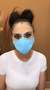 Face Mask Baby Blue