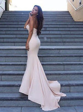 Sweetheart Mermaid Ivory Long Prom Dress, Sexy Evening Dress, OP162