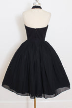 Elegant Black Short Prom Dresses, Halter Homecoming Party Dress OM464