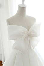 Modern Wedding Dress With Cute Bowknot Cheap Bridal Ball Gown OW389