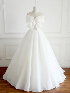 Modern Wedding Dresses.Buy Modern Wedding Dress With Cute Bowknot Cheap Bridal Ball Gown Ow389 Ombreprom Co Uk