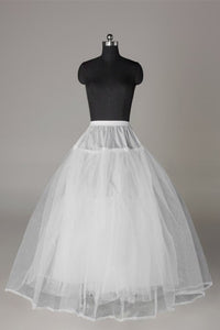 Tulle Netting Ball-Gown 3 Tier Floor Length Wedding Dress Petticoats WP04