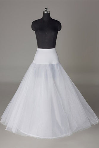 Tulle Netting A-Line 2 Tier Floor Length Wedding Petticoats For Sale WP03