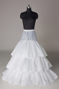 Three Tier Floor Length Layered Bridal Wedding Slips Petticoats WP08
