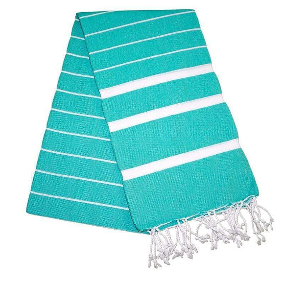 Nergis Mint Green Turkish Towel Peshtemal - The Original Turkish Towels