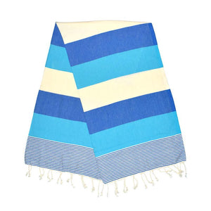 American Berry Blue Turquoise Turkish Towel
