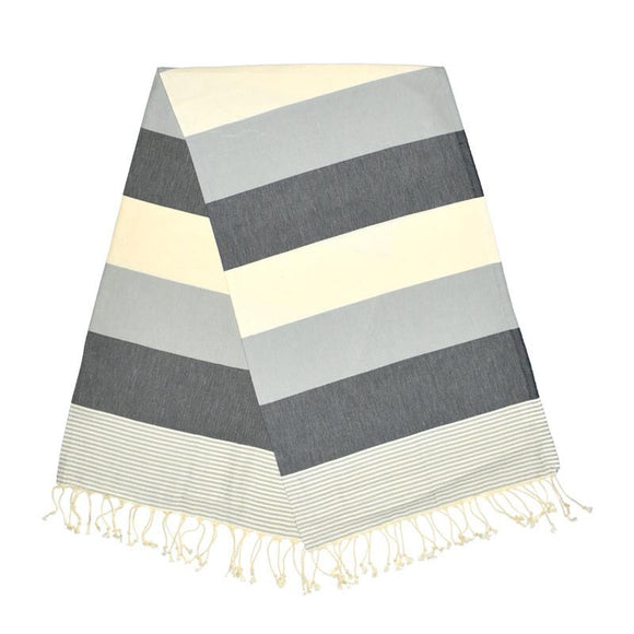 American Stone Grey Antracite Turkish Towel
