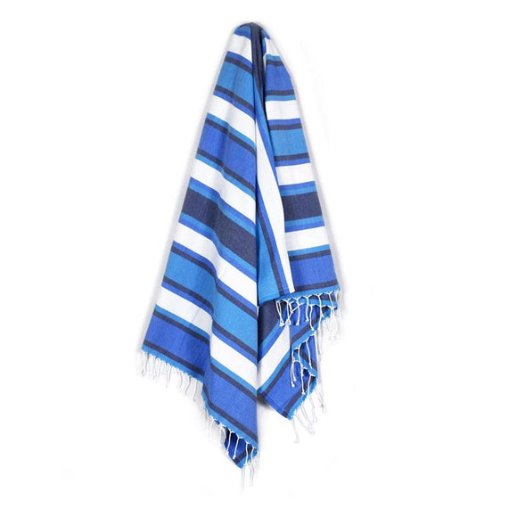 The Original Turkish Towels - Arco Iris Dark Blue Turkish Towel