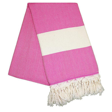 Balik Sirti Bubblegum Pink Turkish Towel