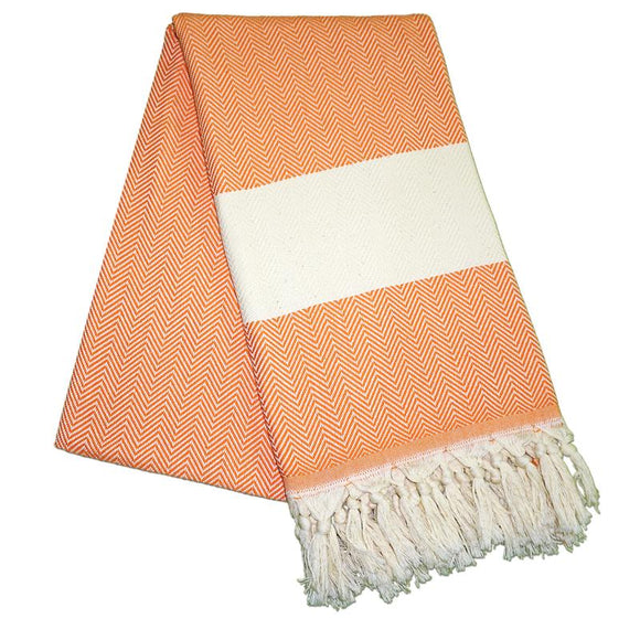 balik-sirti-carrot-orange-turkish-towel