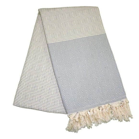 Cizgili-Elmas-Stone-Grey-Turkish-Towel-Peshtemal-The-Original-Turkish-Towels-Peshtemals