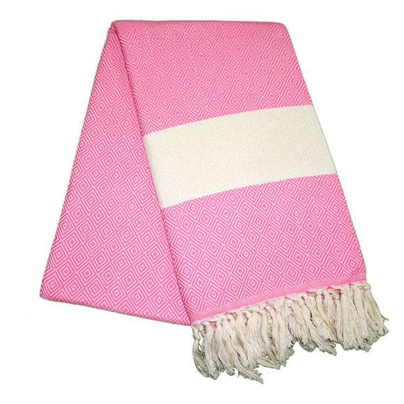 Elmas Dream Pink Turkish Towel