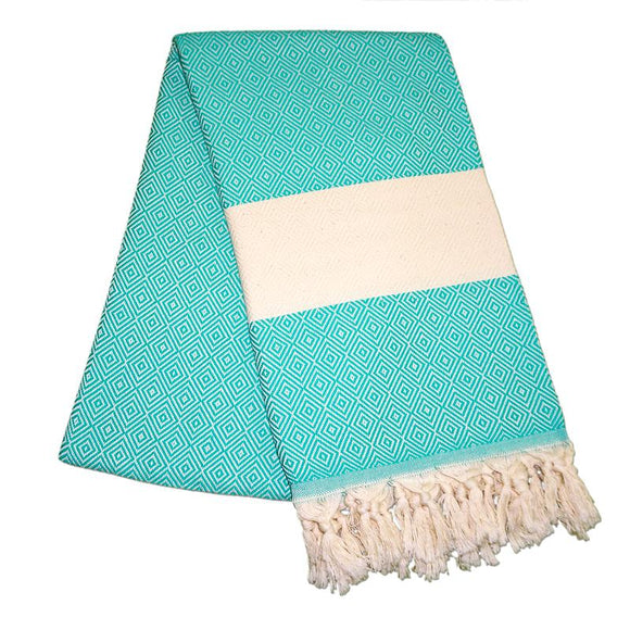 Elmas Mint Green Turkish Towel