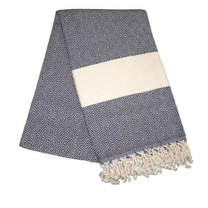 Elmas Pebble Grey Turkish Towel