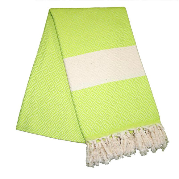 Elmas Pistashio Green Turkish Towel
