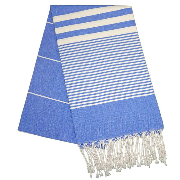 The Original Turkish Towels - Hereke Berry Blue Turkish Towel