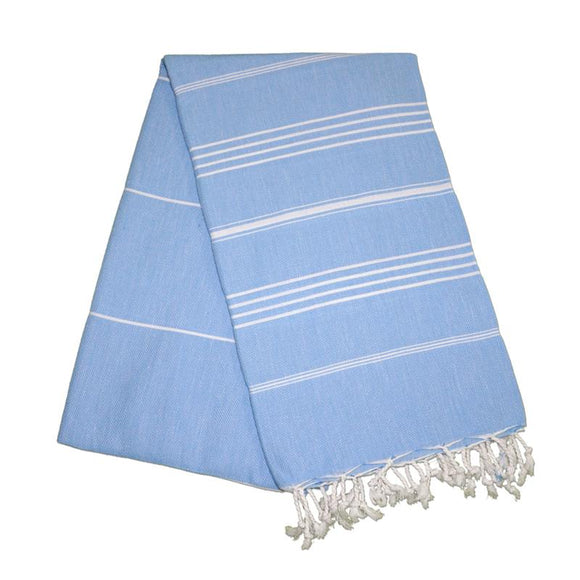 Sultan Baby Blue Turkish Towel