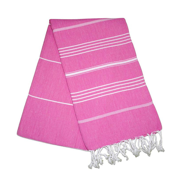 Sultan Bubblegum Pink Turkish Towel