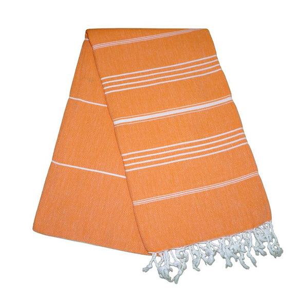 Sultan Carrot Orange Turkish Towel