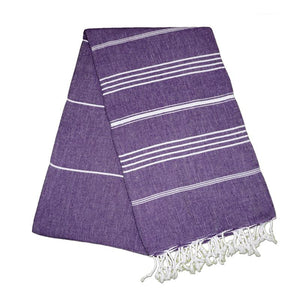Sultan Lavender Purple Turkish Towel