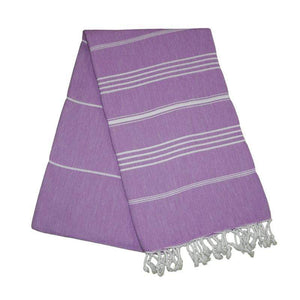 Sultan Lilac Purple Turkish Towel