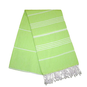 Sultan Pistachio Green Turkish Towel