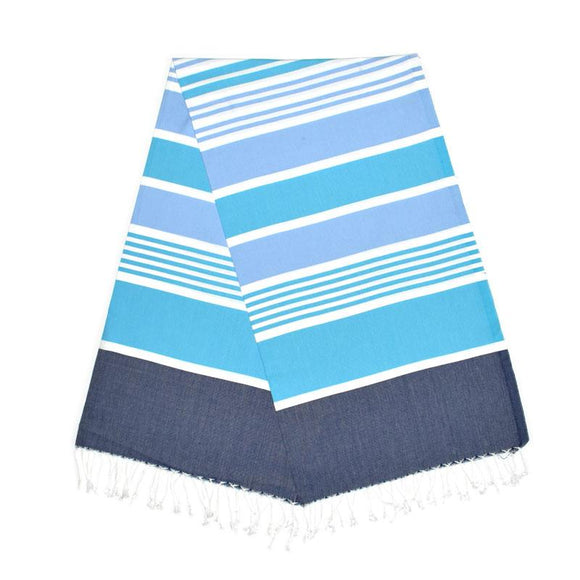 Cleopatra Berry Blue Aqua Baby Turkish Towel
